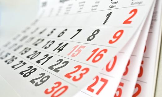 Kalendari za 2019 godinu